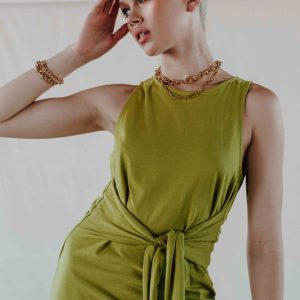 baked-collection-chartreuse-front-tie-dress1