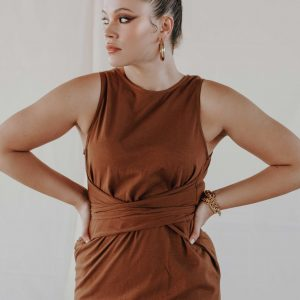 baked-collection-chocolate-front-tie-dress1