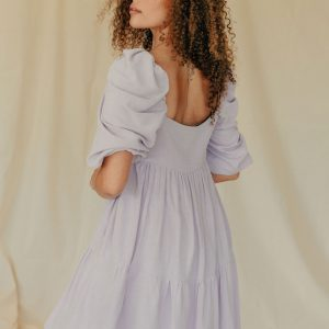 Baked Collection - Spellbound Dress - Ice Viola