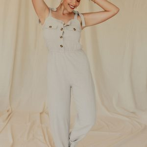 Baked Collection - Moonshine Jumpsuit - Tan