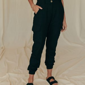 Baked Collection - Dream Catcher Pants - Obsidian