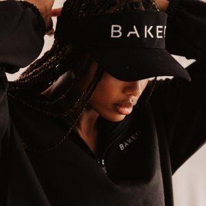 Baked Collection - Baked Sun Visor - Noir