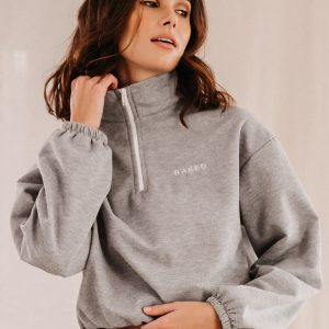 Baked Collection - Half Moon Sweatshirt - Comet Grey