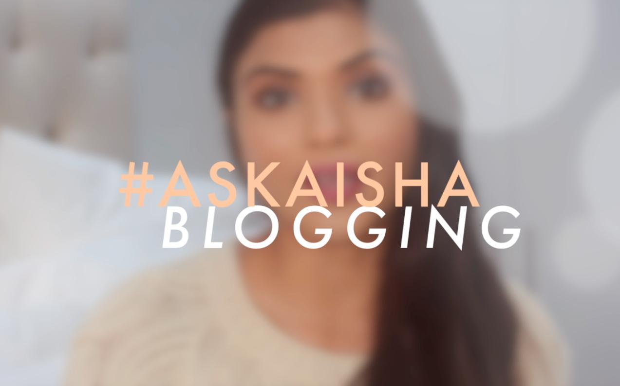 Ask Aisha About Blogging